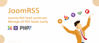 JoomRSS - Best RSS Feed Syndicate Extension