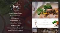 SJ Zaga - Responsive Joomla Restaurant